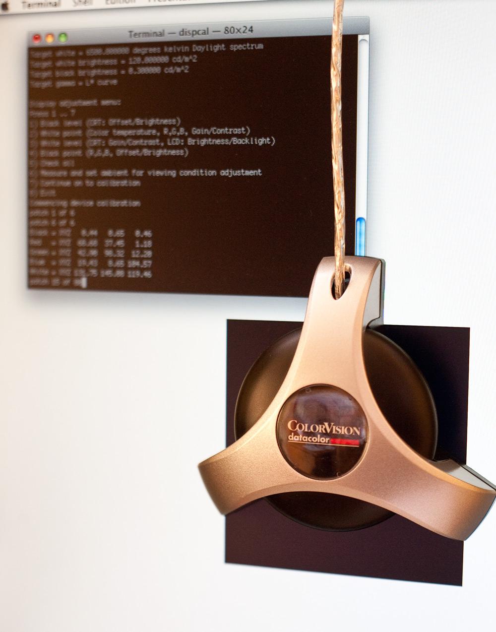 Dispcal GUI : le calibrage d'écran « open source