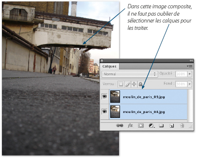 Photoshop cs4 augmentation de la profondeur de champ for Outil miroir photoshop
