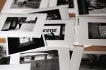 Les tirages permettent d'avoir une bonne lisibilité des images et peuvent servir de base à la maquette papier.